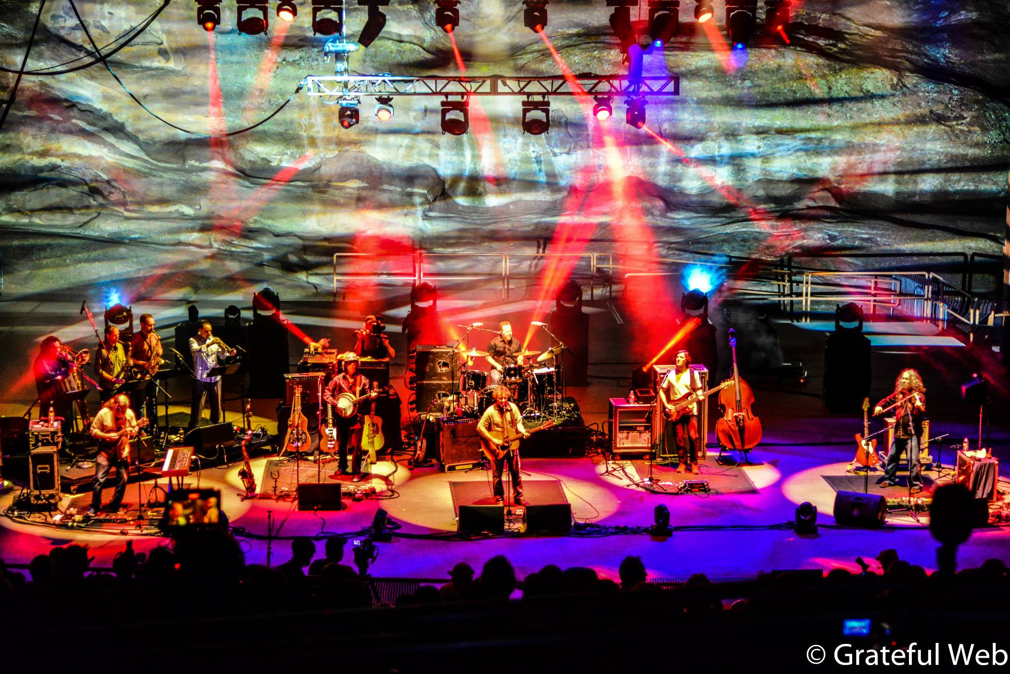Railroad Earth | Red Rocks | 8/2/14 | Review
