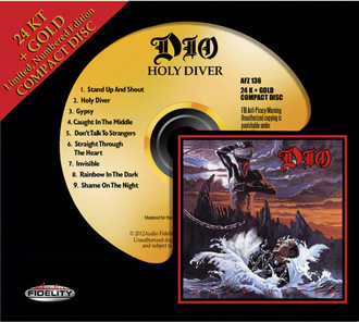 Audio Fidelity to Release Dio and Bryan Adams Gold Titles