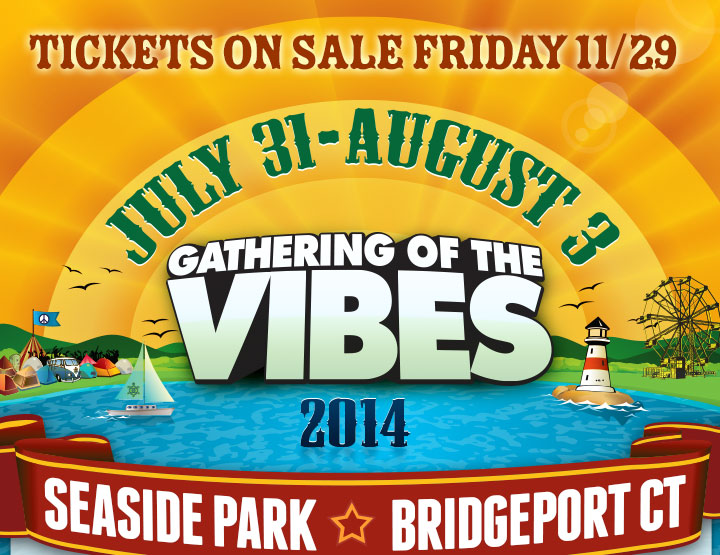 Gathering of the Vibes Tickets On Sale Black Tie Dye Friday
