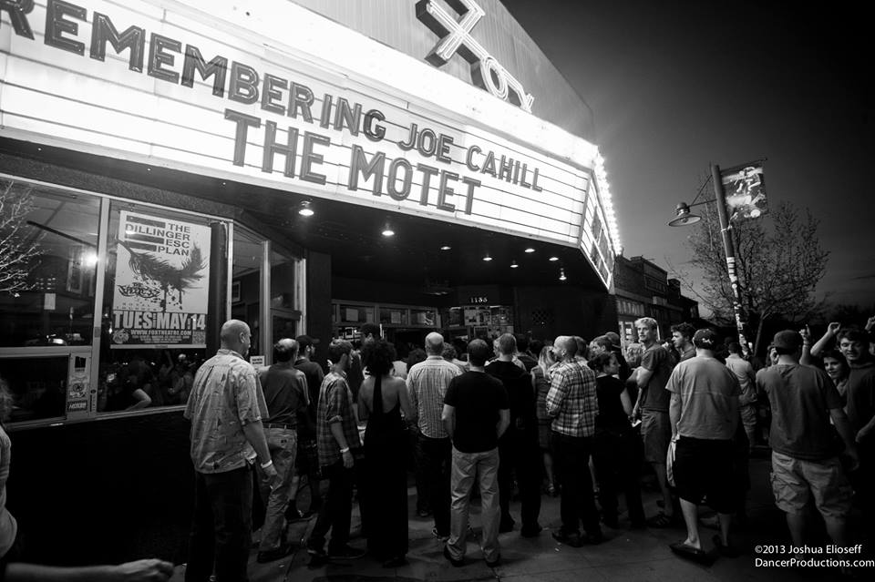 Joe Cahill Benefit Show | Fox Theater | 5/13/13 | Review