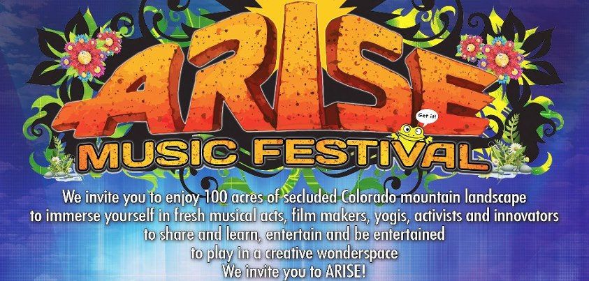 Arise Music Festival | Loveland, Colorado | Announcement