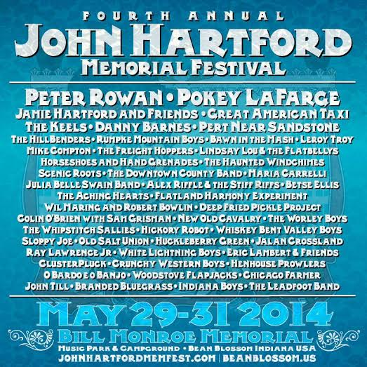 Lineup Additions for the 4th Annual John Hartford Memorial Festival Announced