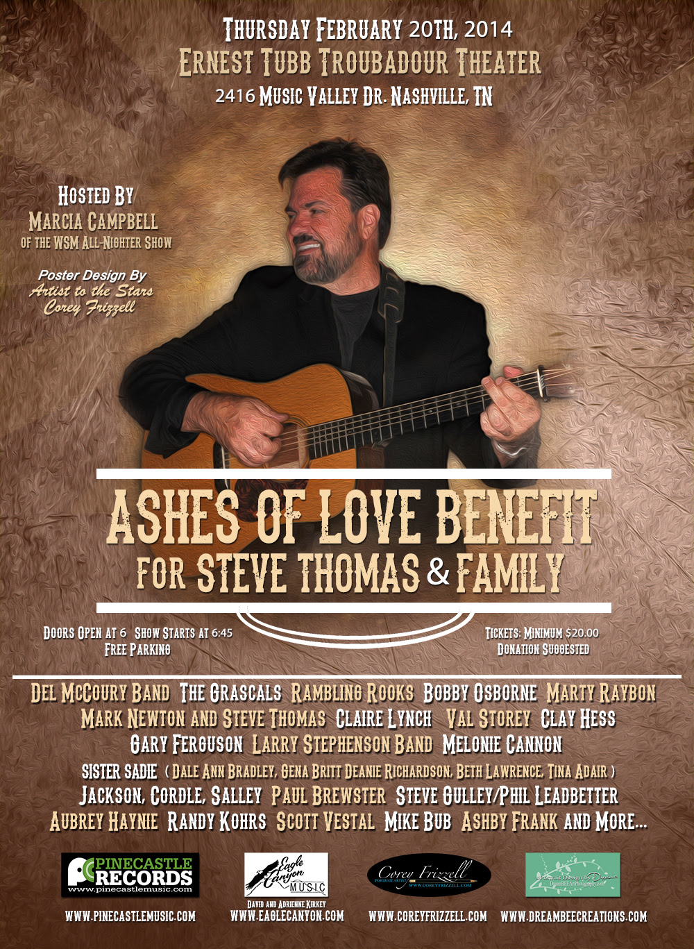 "Sierra Hull Added to ""Ashes of Love"" Benefit Concert"