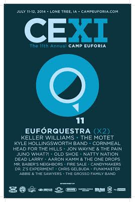 Camp Euforia Announces Final 2014 Lineup