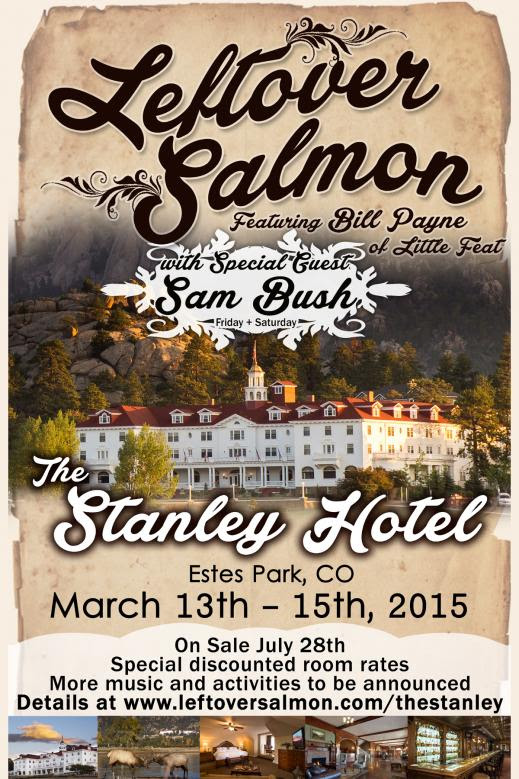 Leftover Salmon with Sam Bush @ The Stanley Hotel