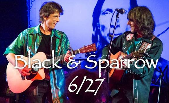 Black and Sparrow to play a FREE SHOW in Westbury, NY