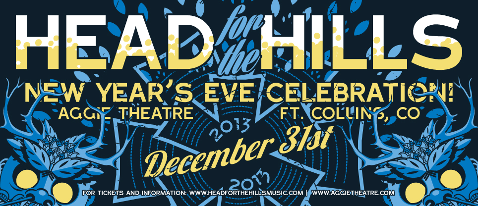 Head for the Hills Announces New Years Show in Fort Collins