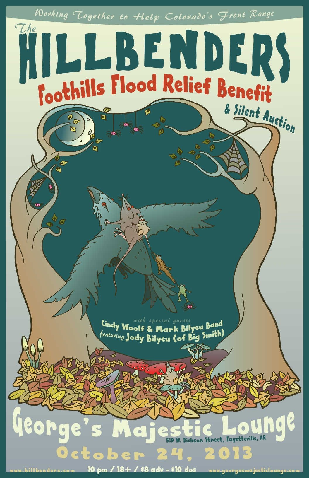 The Hillbenders Host CO Foothills Flood Relief Benefit
