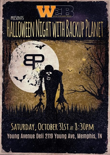 Whitney Entertainment Brokers Presents Halloween Night with Backup Planet