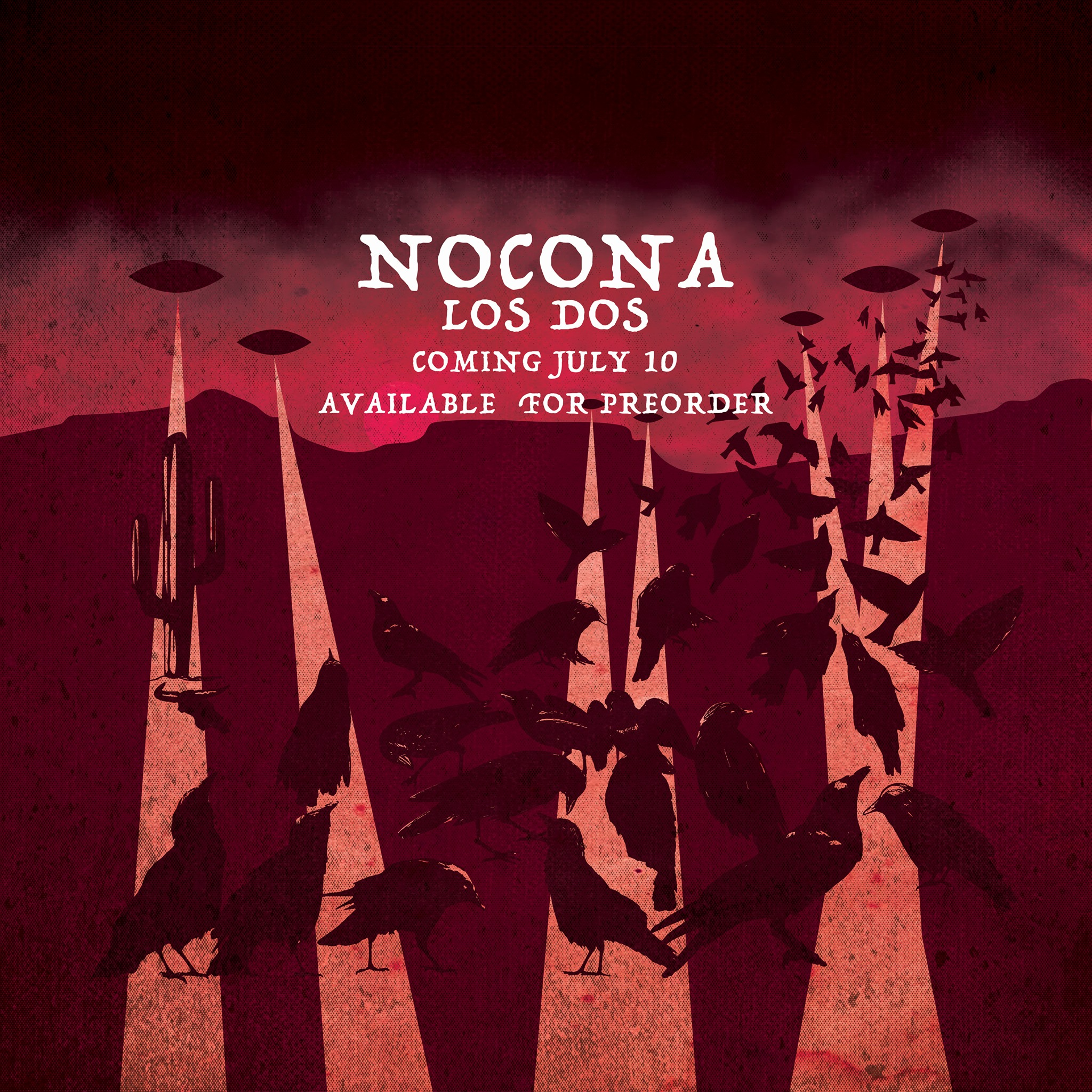 Announcing New Nocona Release 'Los Dos' AND Facebook Live Party