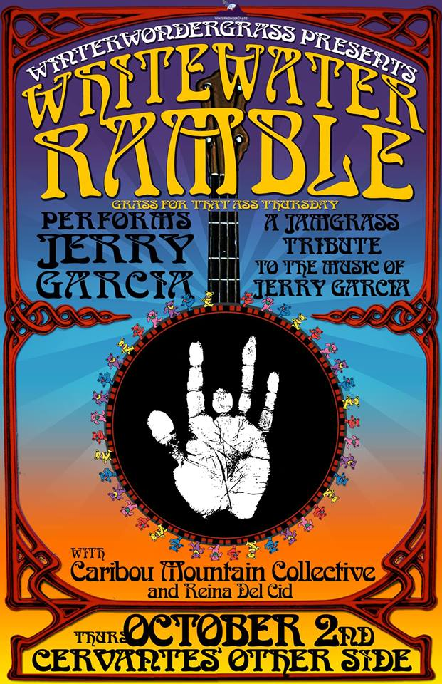 Whitewater Ramble to Perform the Music of Jerry Garcia
