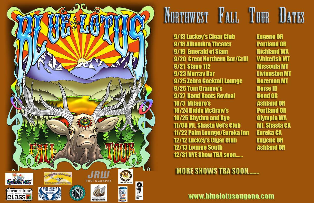 Catch Blue Lotus On Tour Now!