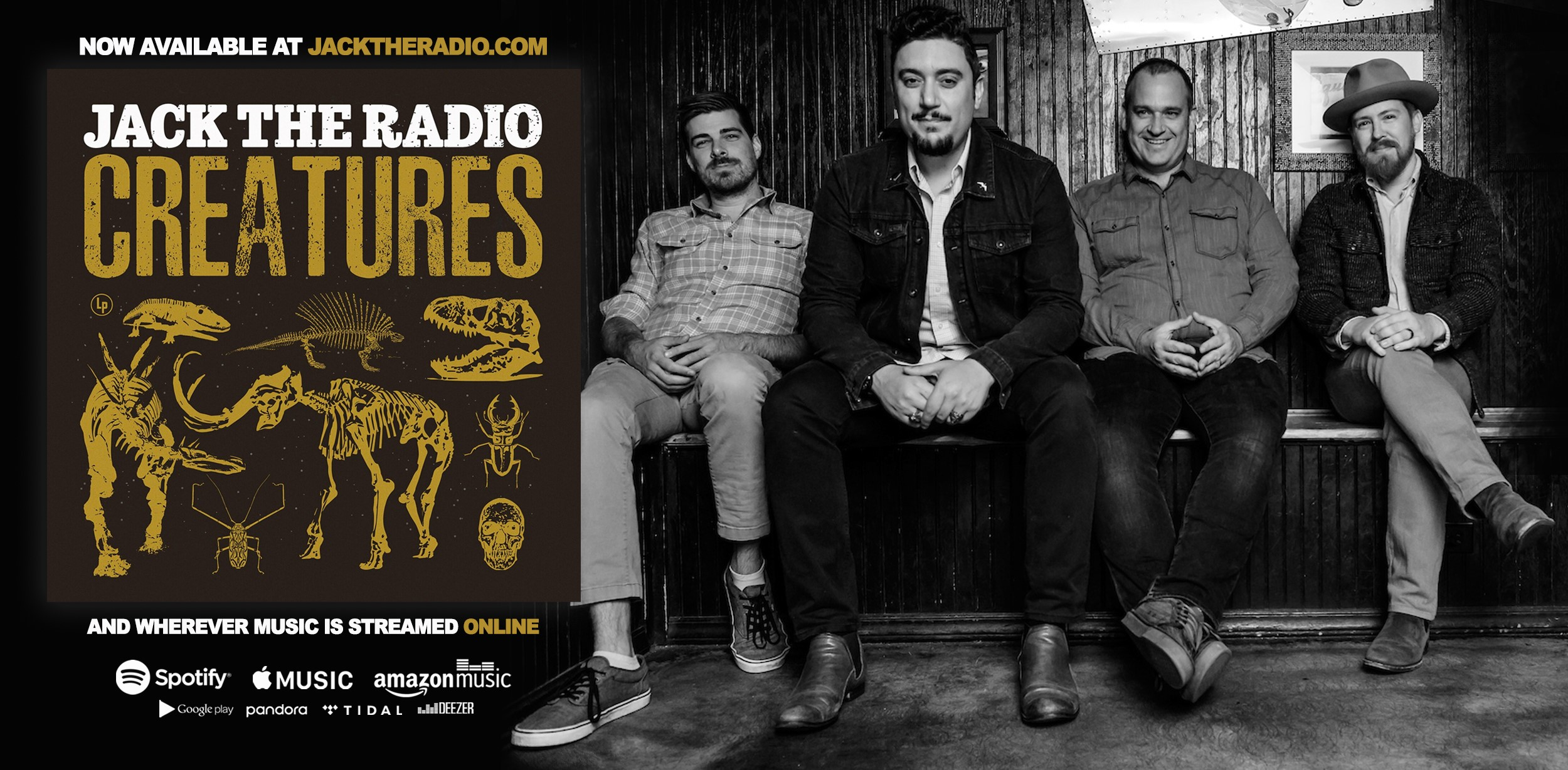 Jack The Radio Releases Creatures Today