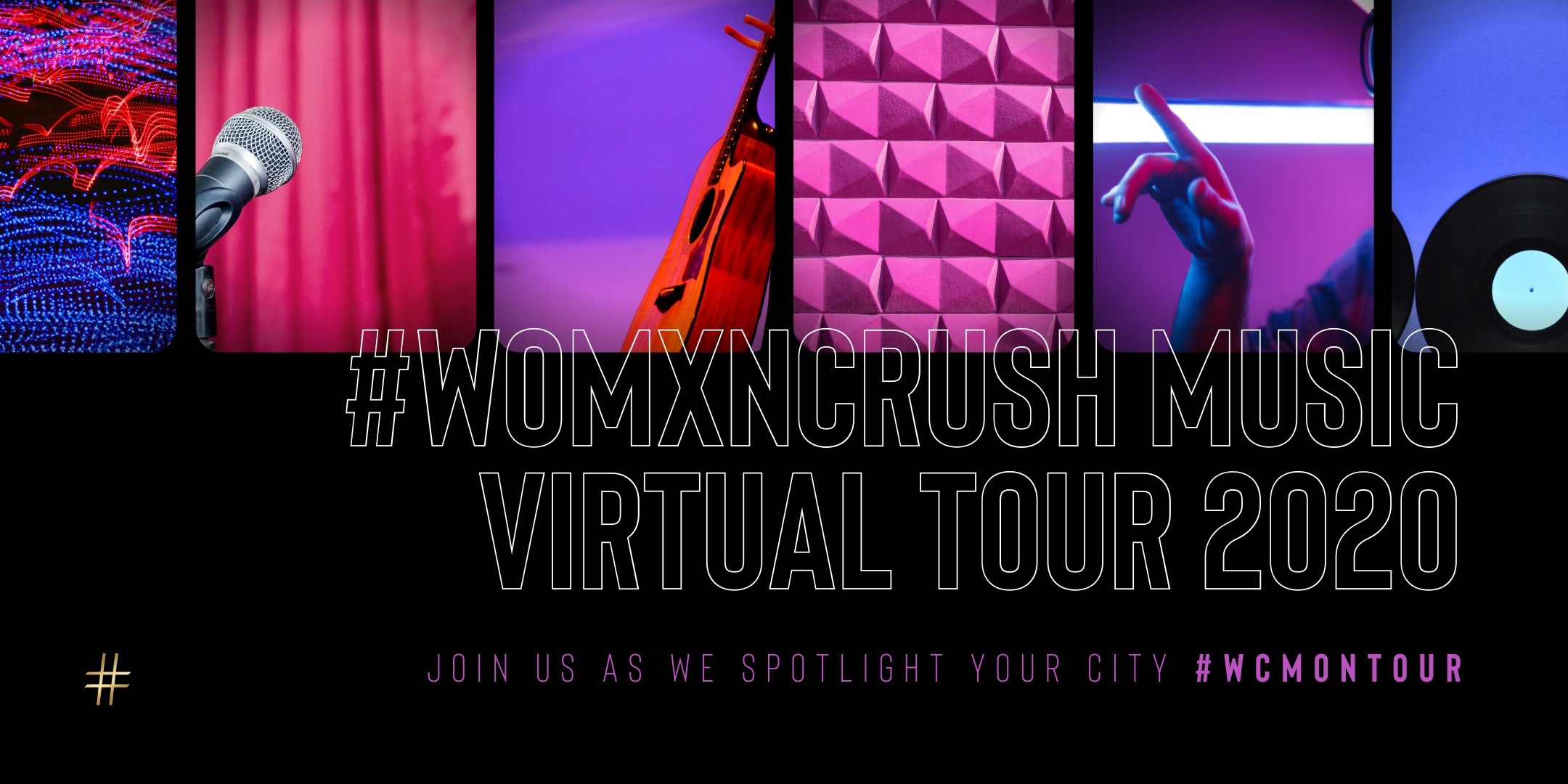 #WomxnCrush Music Announces Nationwide Virtual Tour To Connect Local Communities