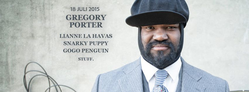 Gregory Porter, Snarky Puppy and GoGo Penguin also at Gent Jazz Festival