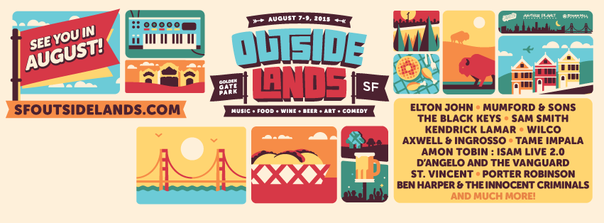 Outside Lands 2015 | Preview