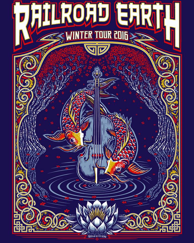 Railroad Earth Announce Support For Winter Tour