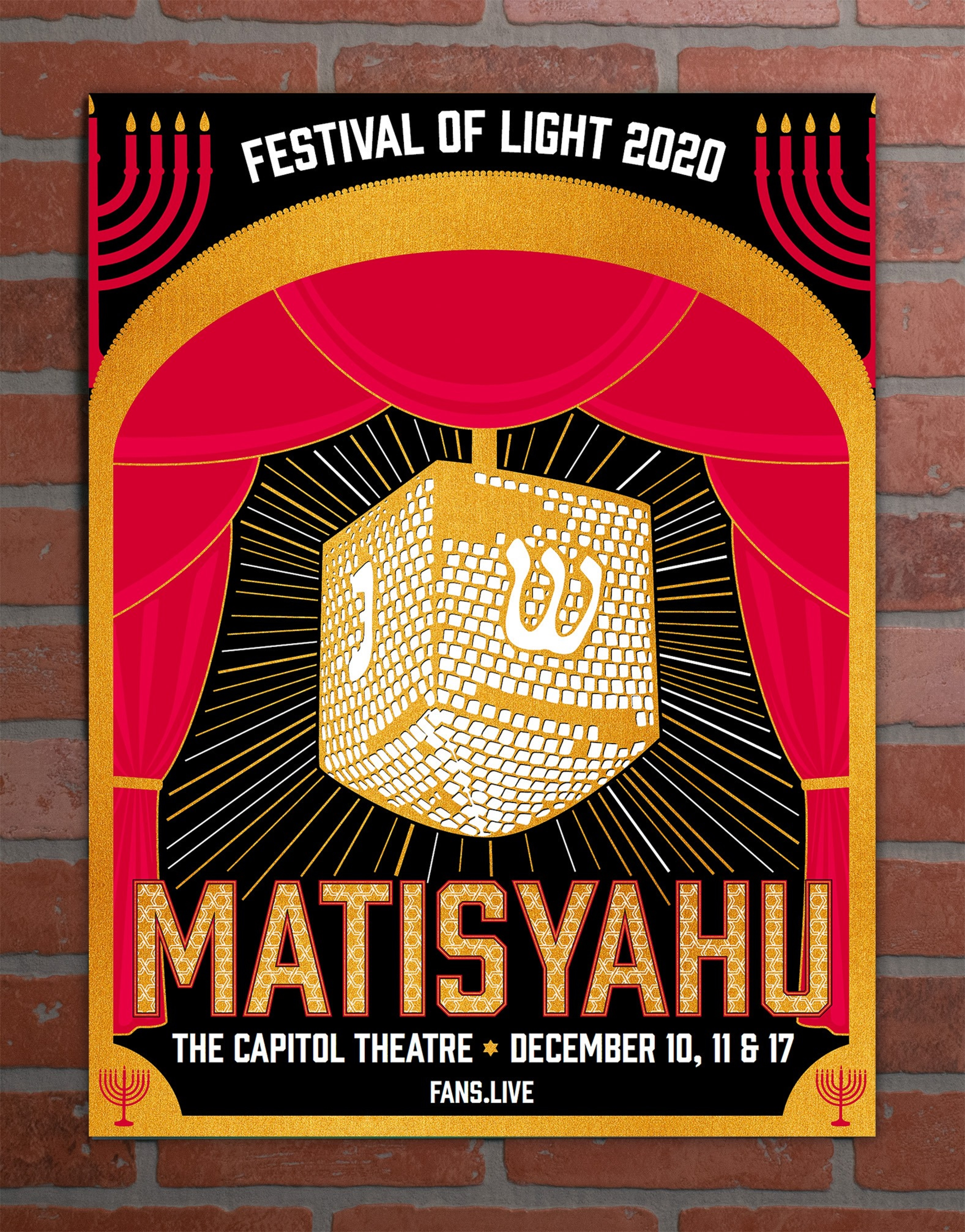 Matisyahu Festival of Light 2020 Livestream on FANS