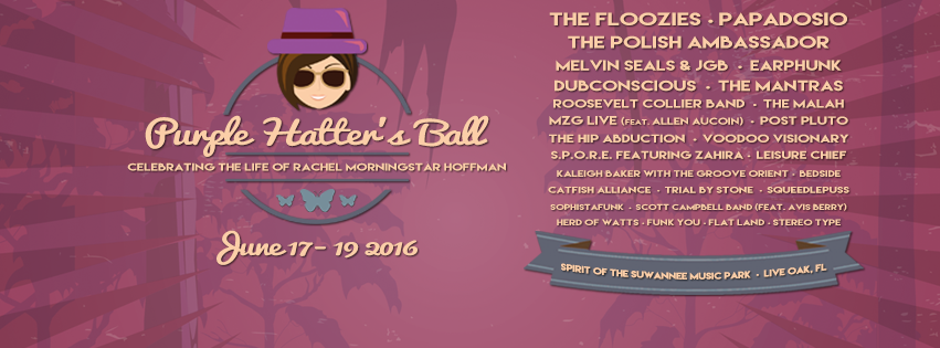 Purple Hatter's Ball Releases Daily Schedule