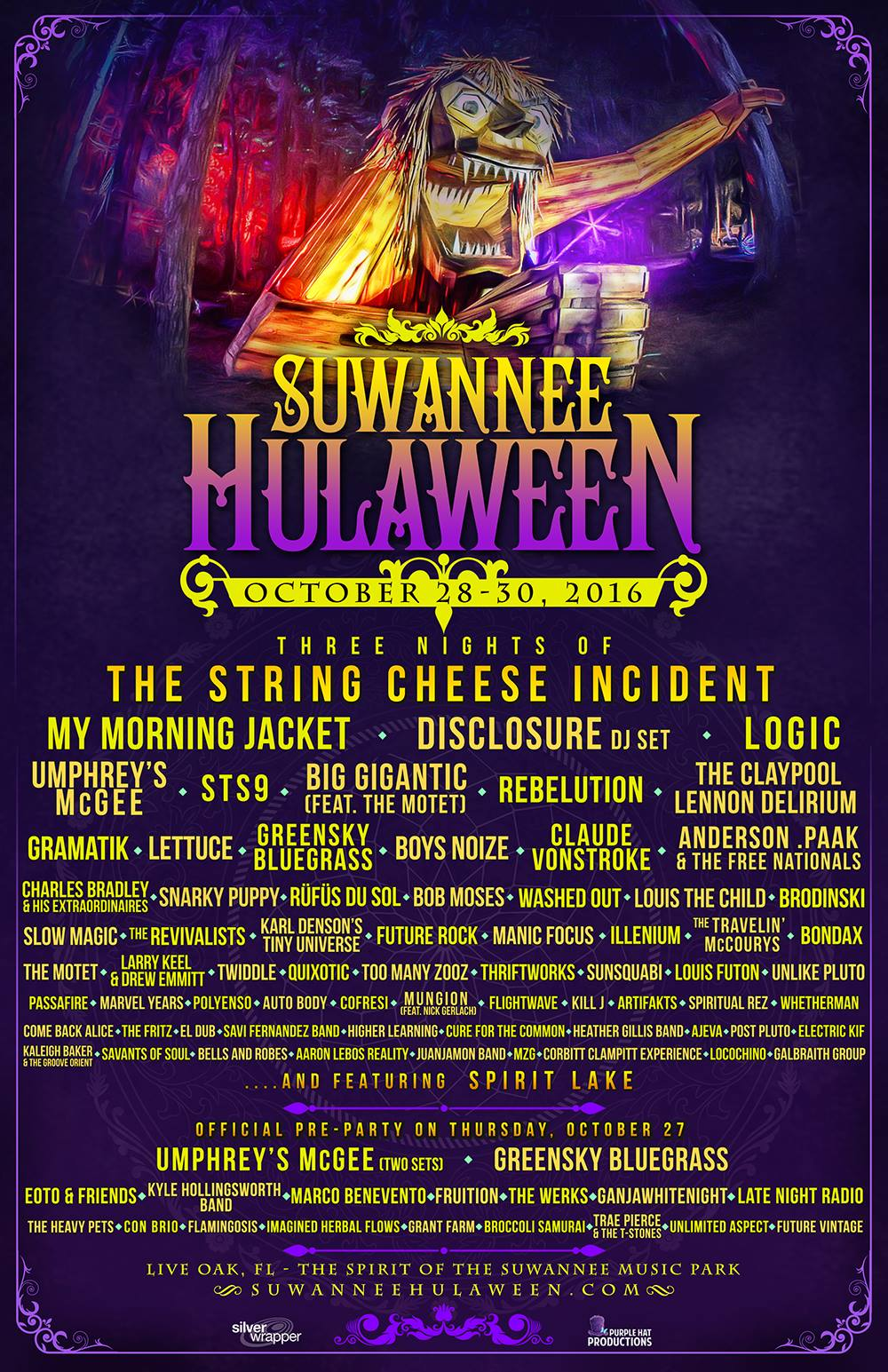 Suwannee Hulaween Announces Phase 2