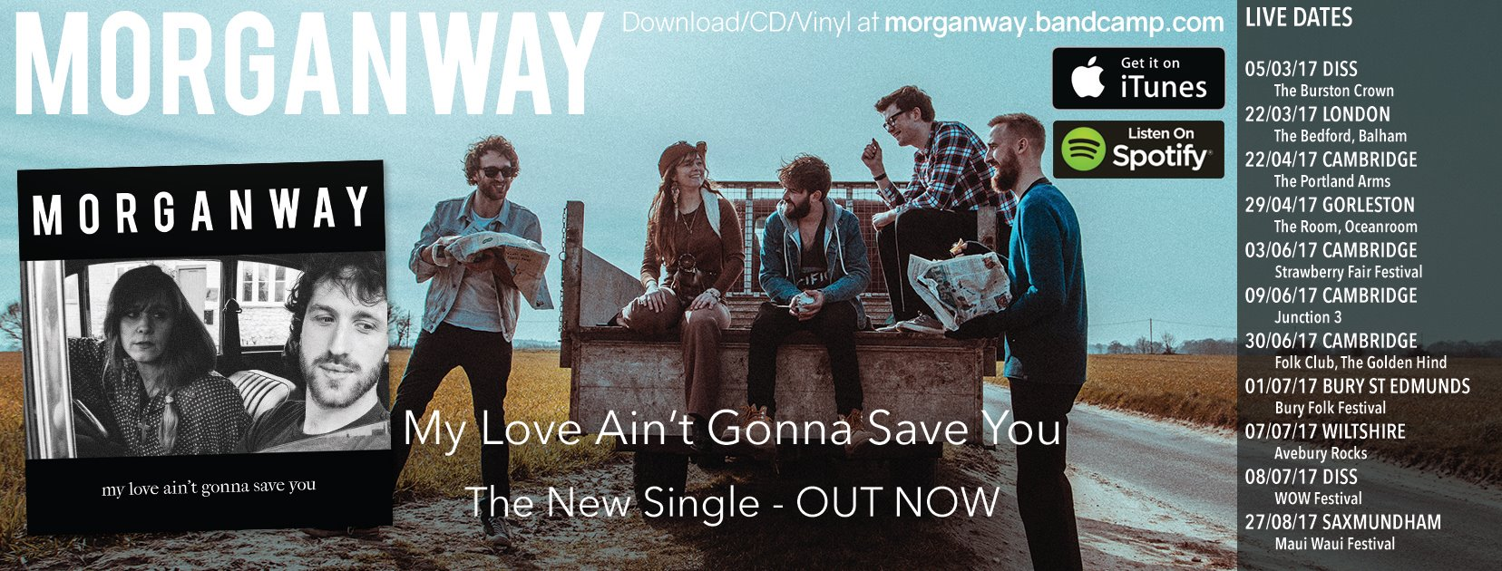 Morganway set to release 'The Hurricane'