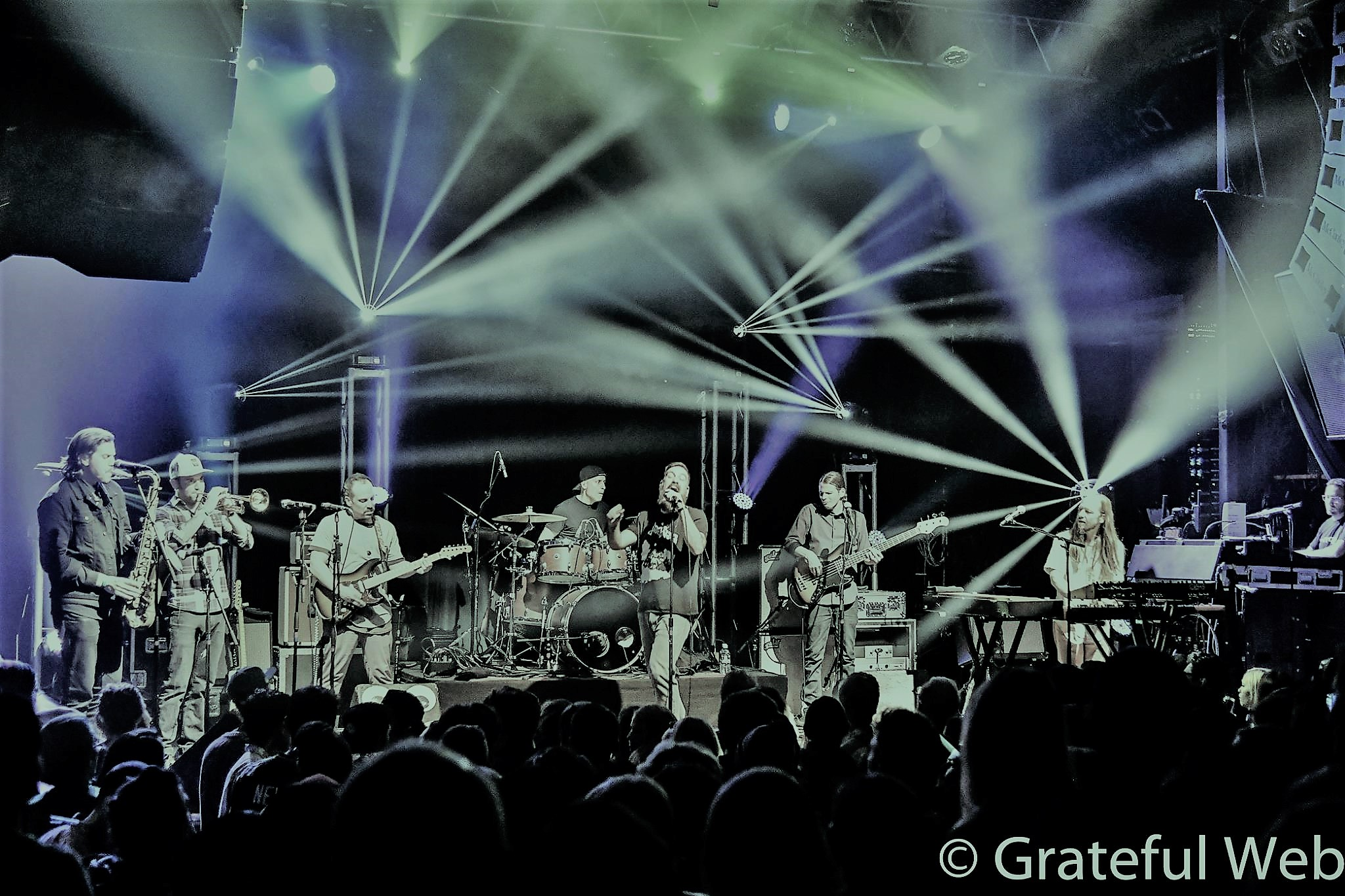 The Motet Funkin' the Fox Theatre's 25th
