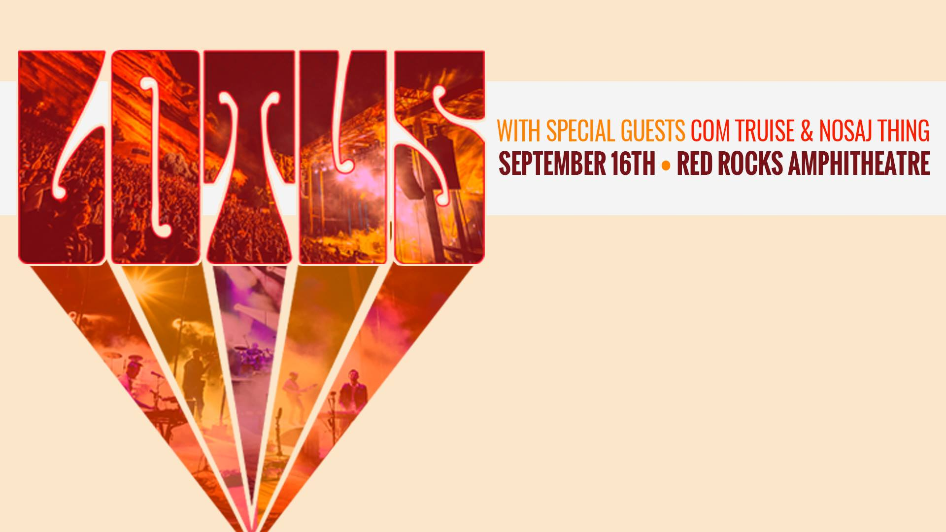 Lotus Announces 2017 Red Rocks Show