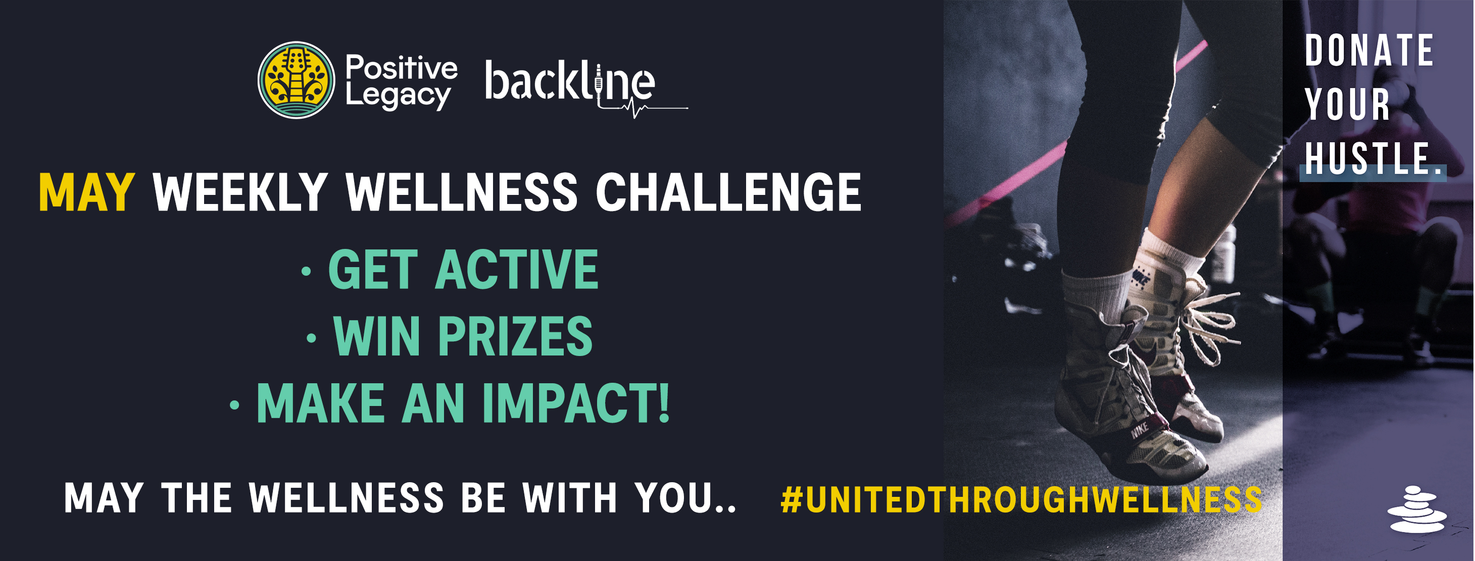 Positive Legacy Announces a Wellness Challenge in Partnership with Backline and Kilter