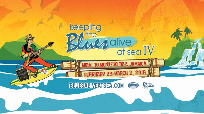 Announcing Keeping the Blues Alive at Sea IV