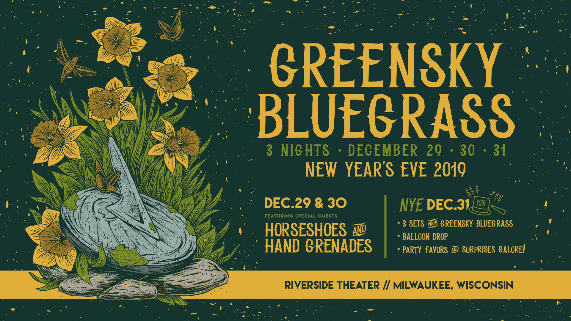 Greensky Announce 3 Night NYE Run in Milwaukee