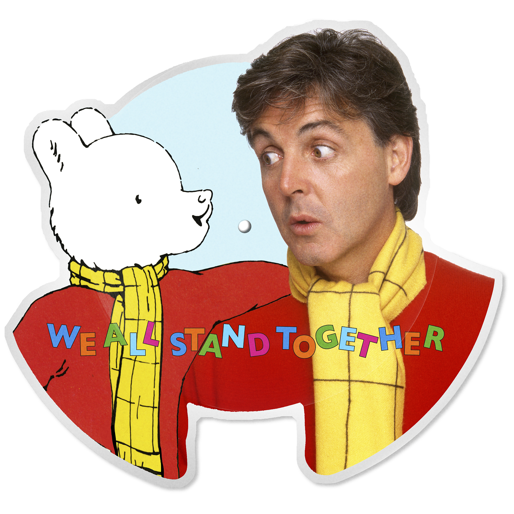Paul McCartney wishes DreamWorks Animation/Classic Media's Rupert The Bear a very happy 100th birthday!