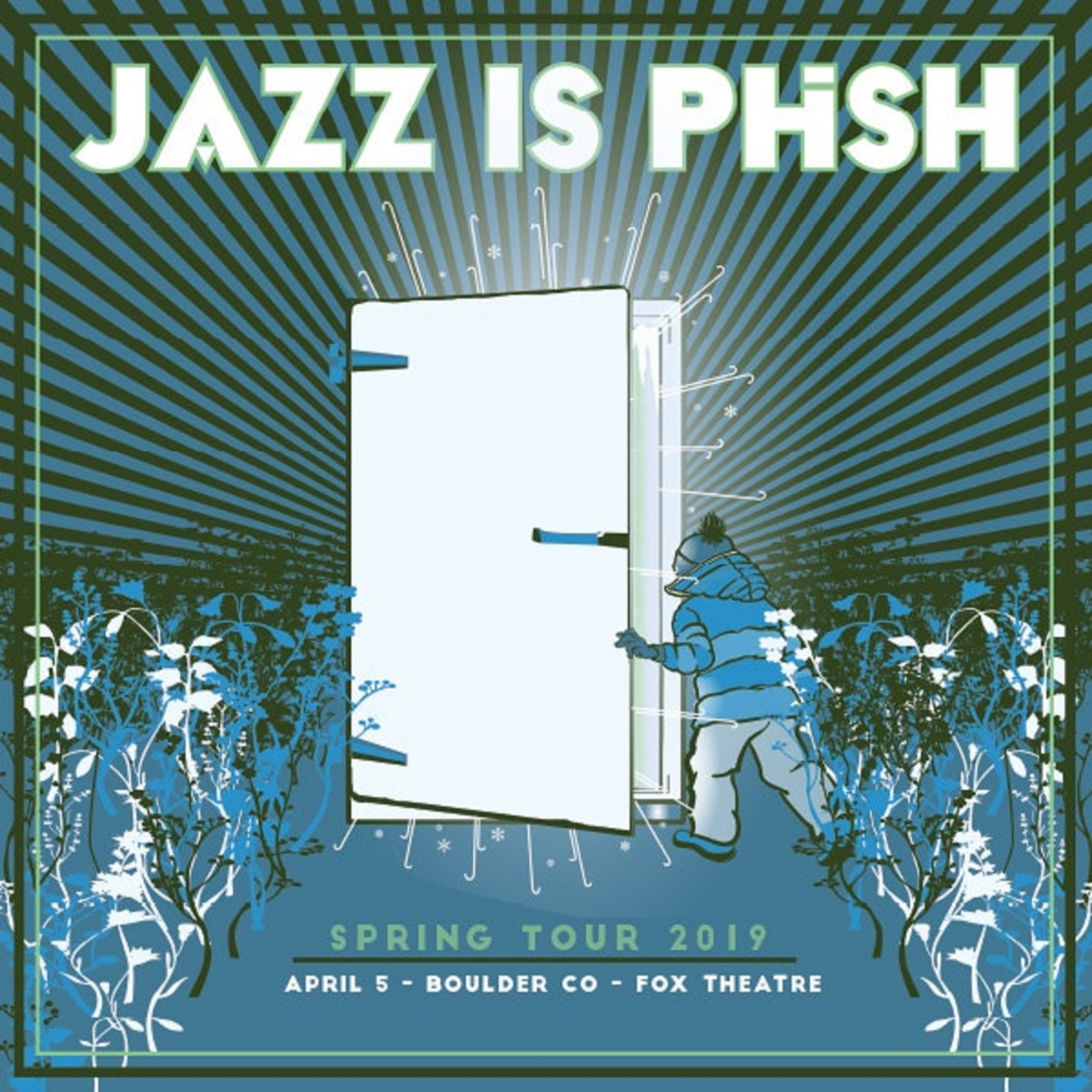 Jazz Is Phish to Play Boulder's Fox Theater in April