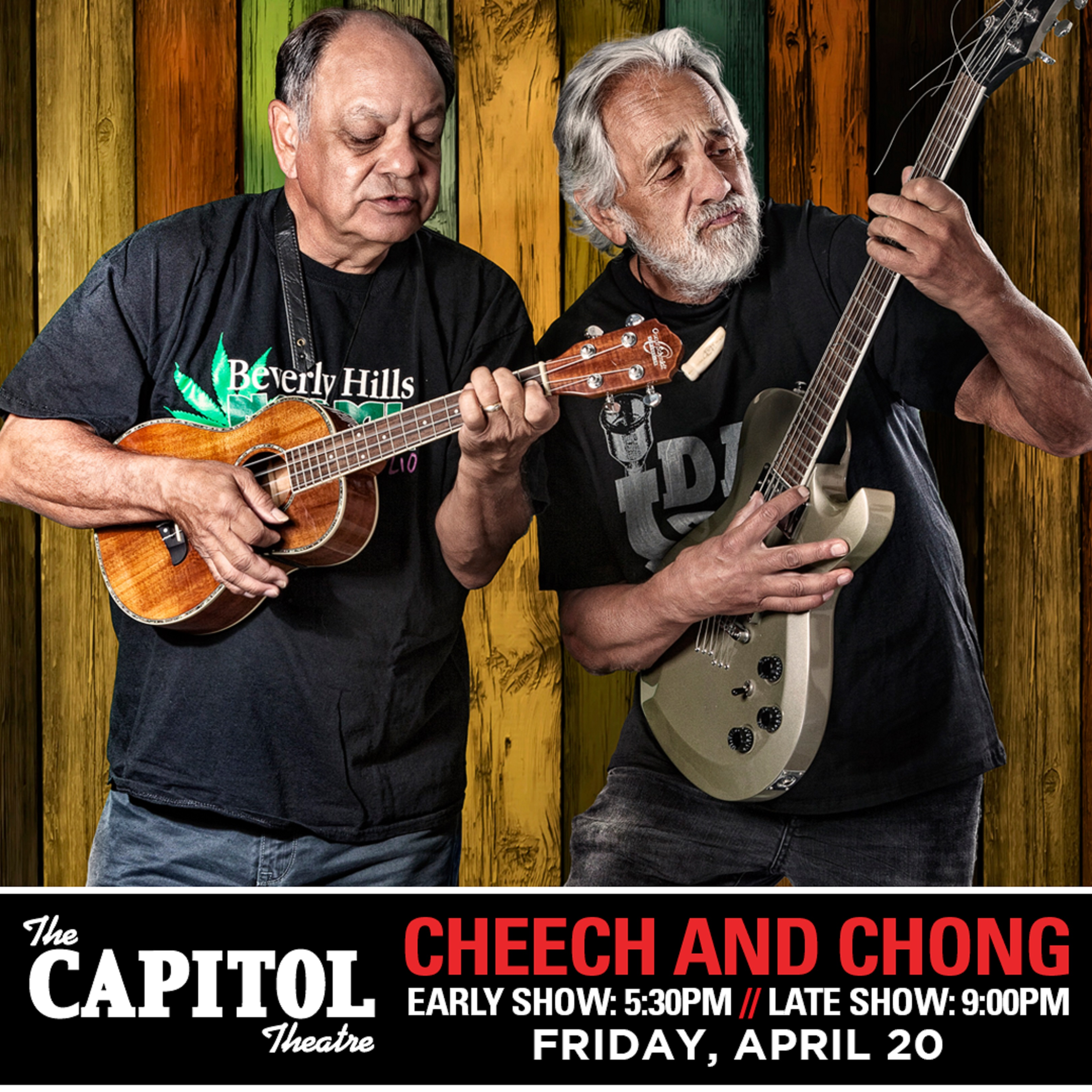 Cheech & Chong celebrate the 40th anniversary of Up in Smoke