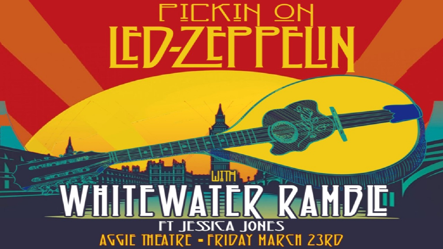 WhiteWater Ramble will release its live 15-track Led Zeppelin cover show