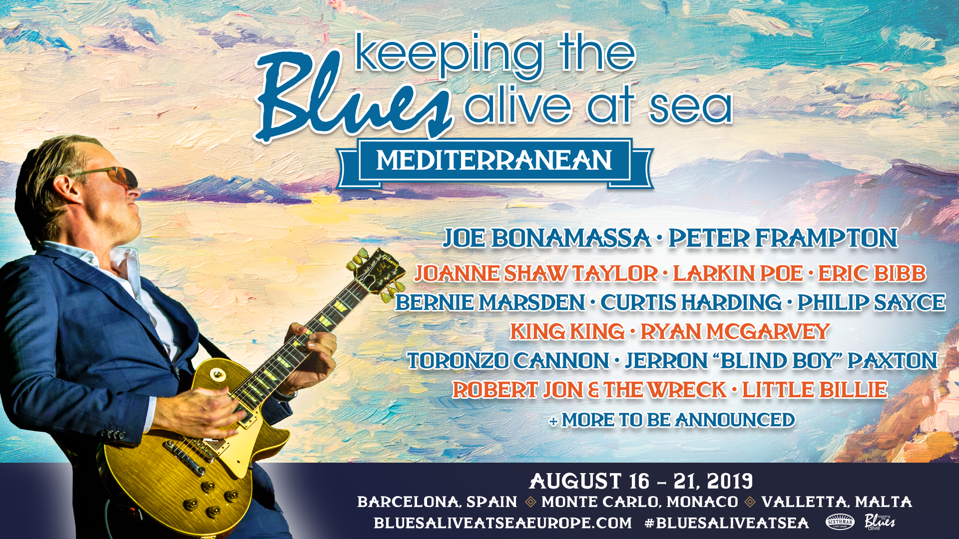 Keeping the Blues Alive Foundation on the Mediterranean
