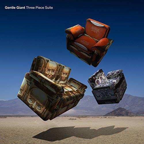 Gentle Giant to release 'Three Piece Suite'