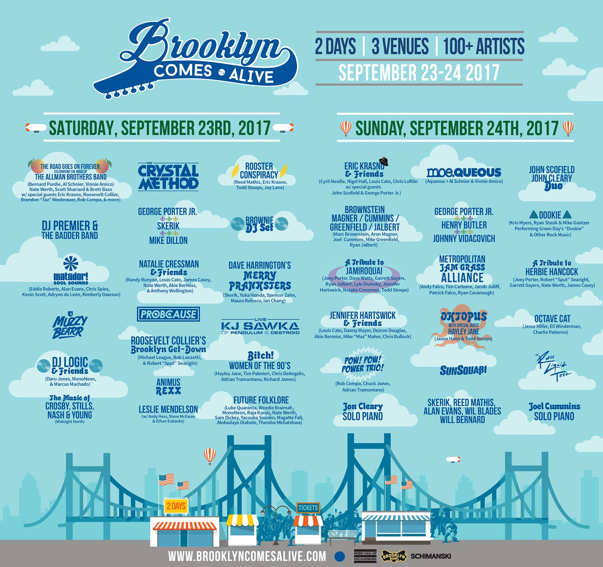 Brooklyn Comes Alive 2017 | Preview