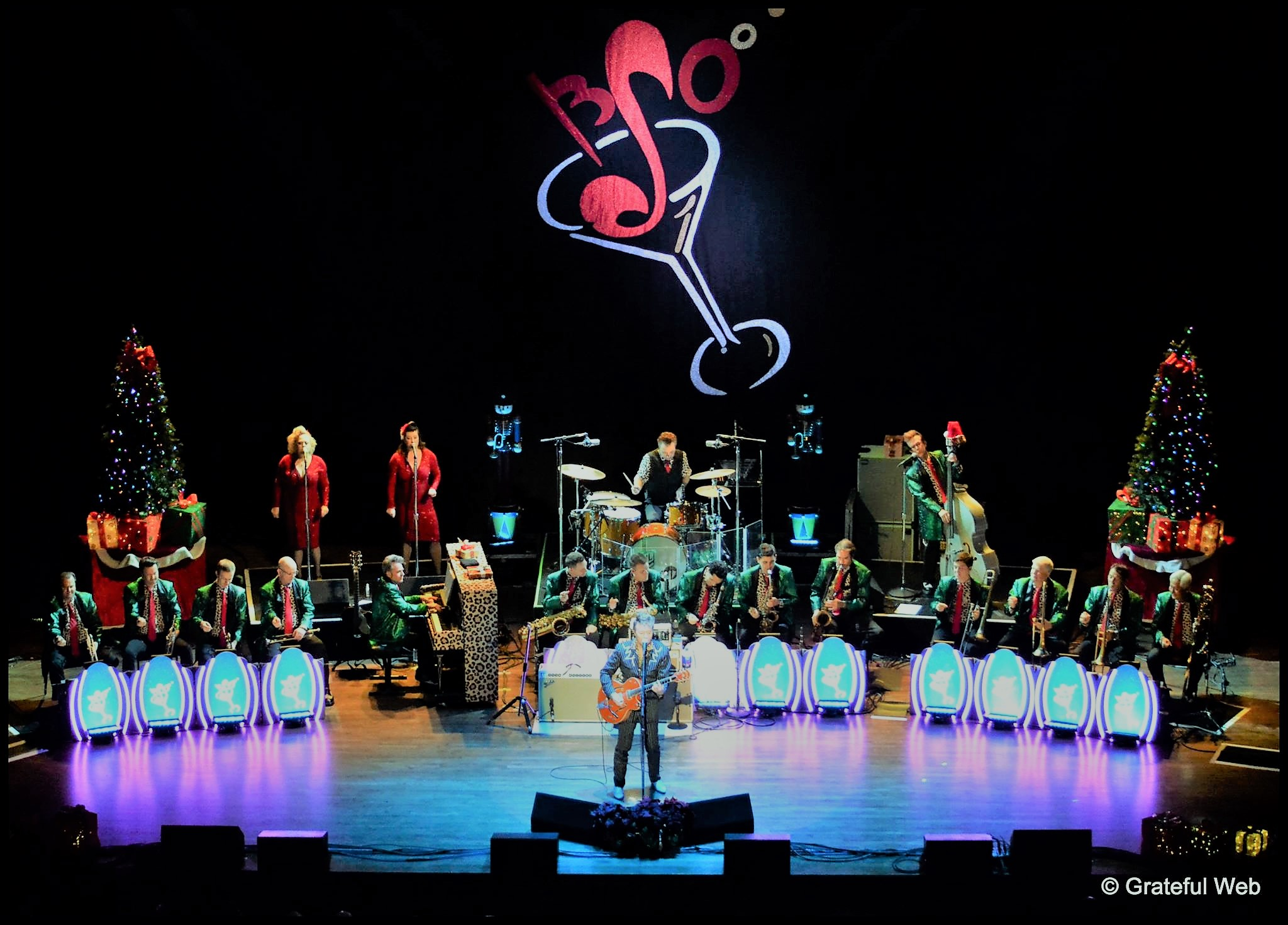 Brian Setzer Orchestra Celebrates 14th Annual Christmas Rocks!