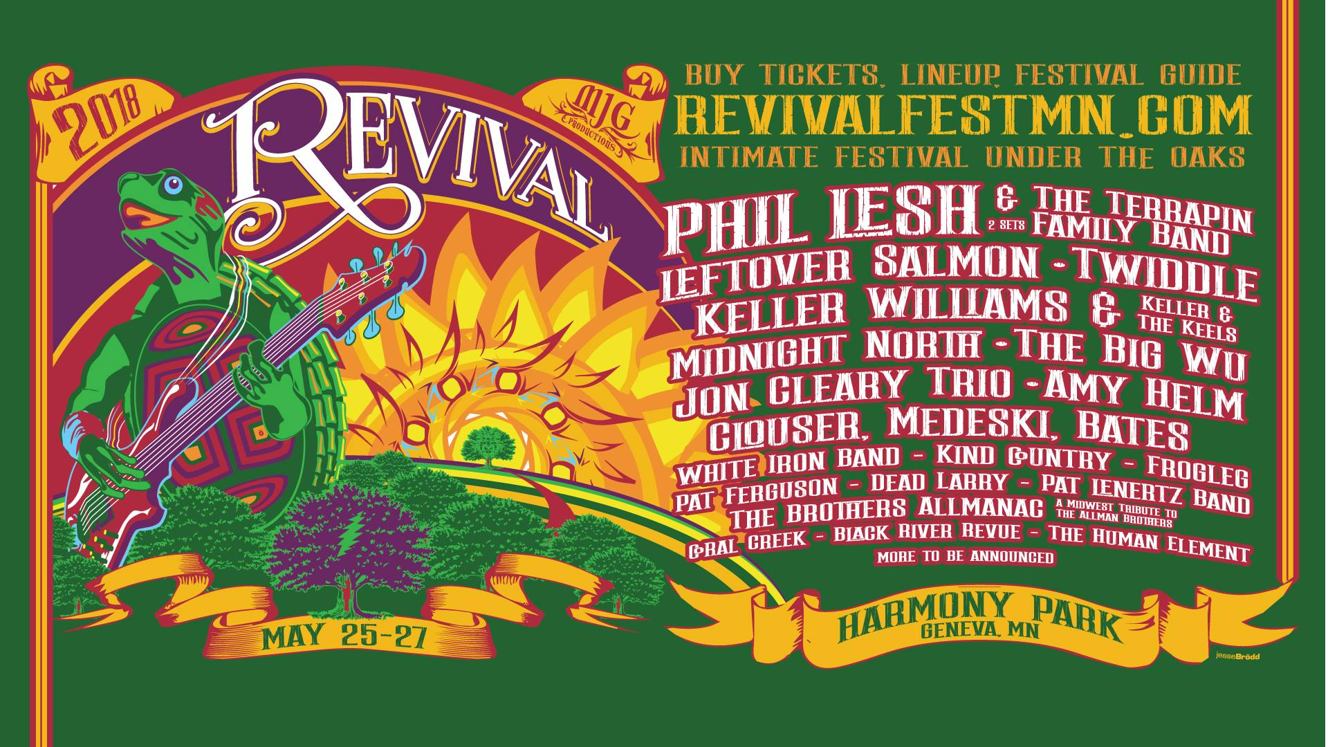 Revival Music Festival 2018 | Preview