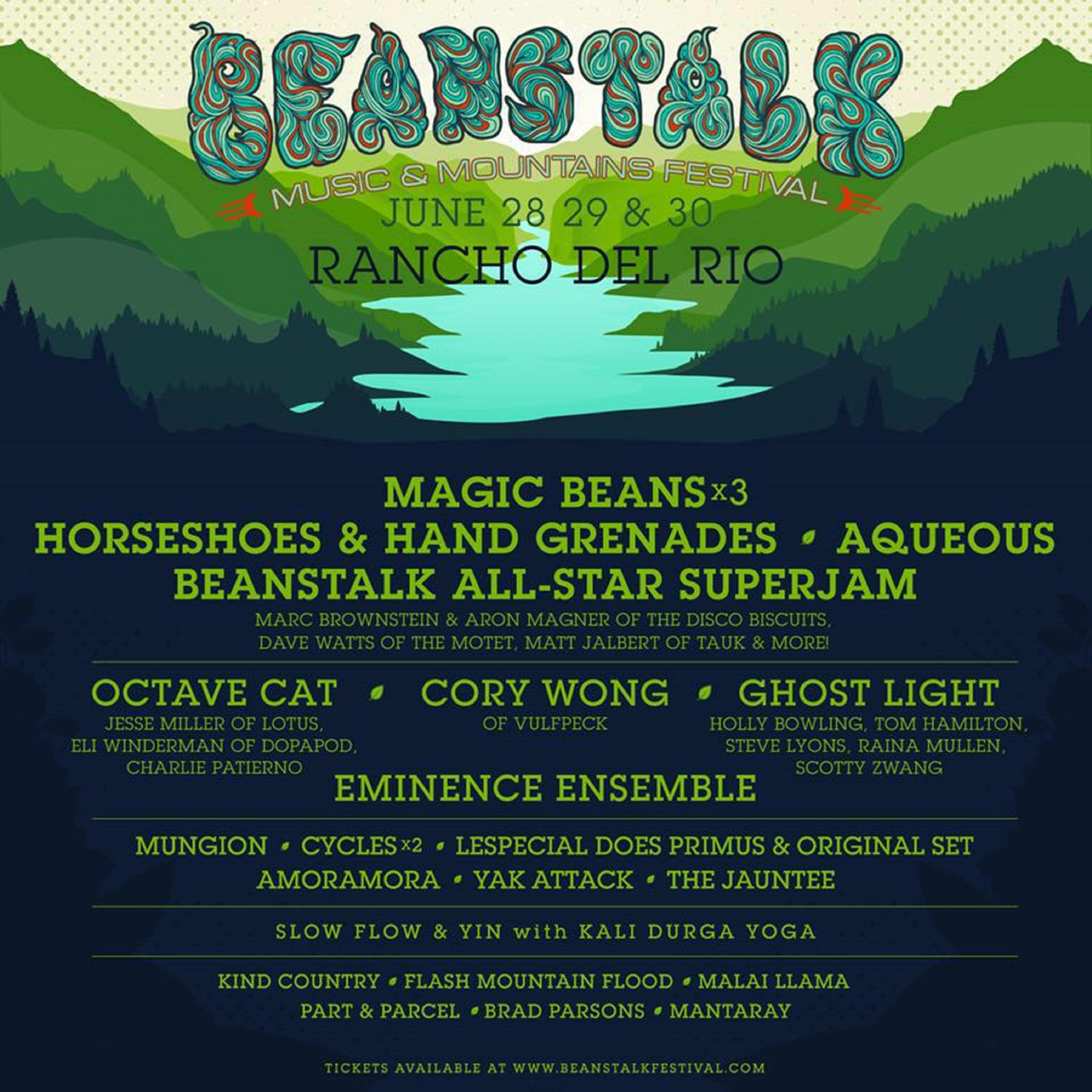Beanstalk Music Festival 2018 | Preview