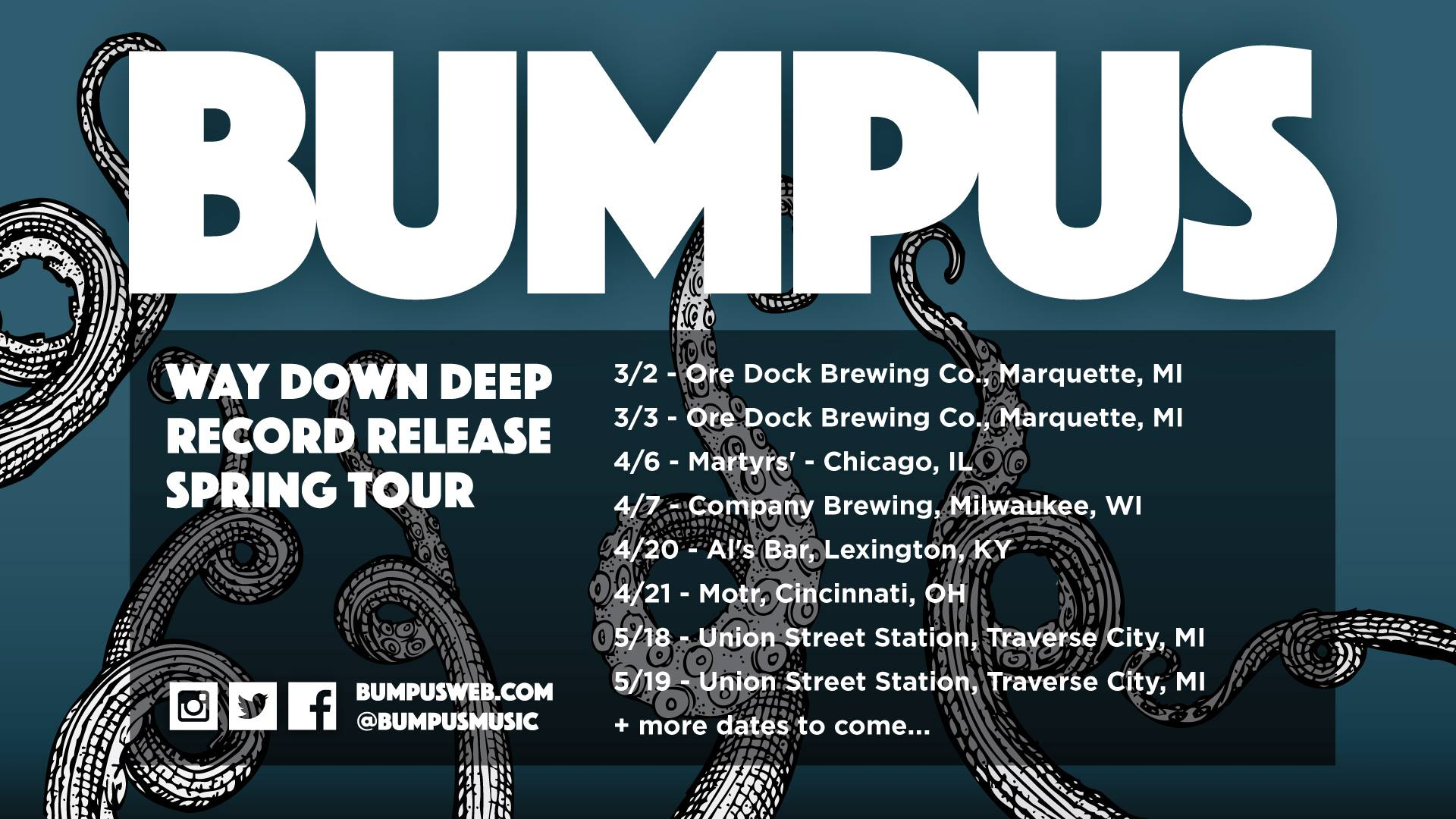 "Bumpus Continue Legacy With Upcoming Release ""Way Down Deep"""