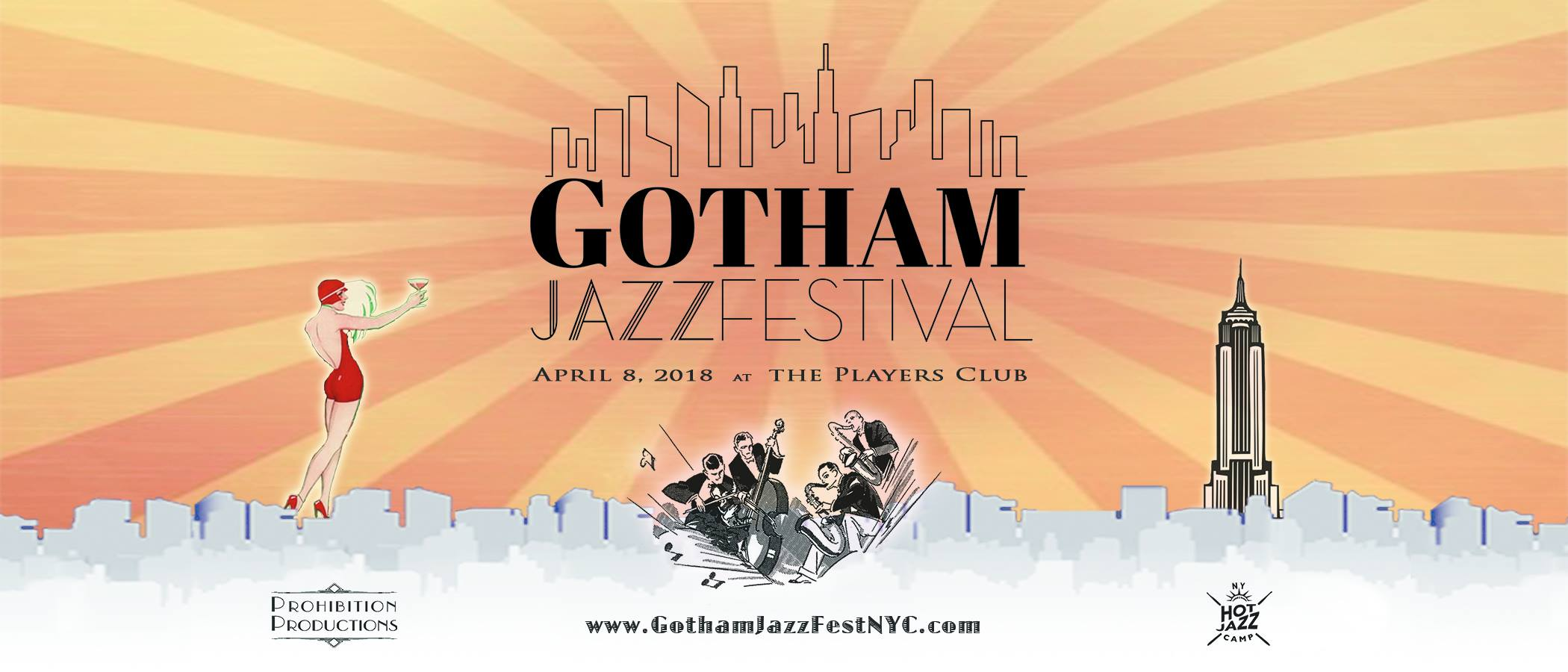 GOTHAM JAZZ FESTIVAL APRIL 8th feat. Catherine Russell, Stephane Wrembel, Kat Edmonson, Evan Christopher, Bria Skonberg, Nicki Parrott and more