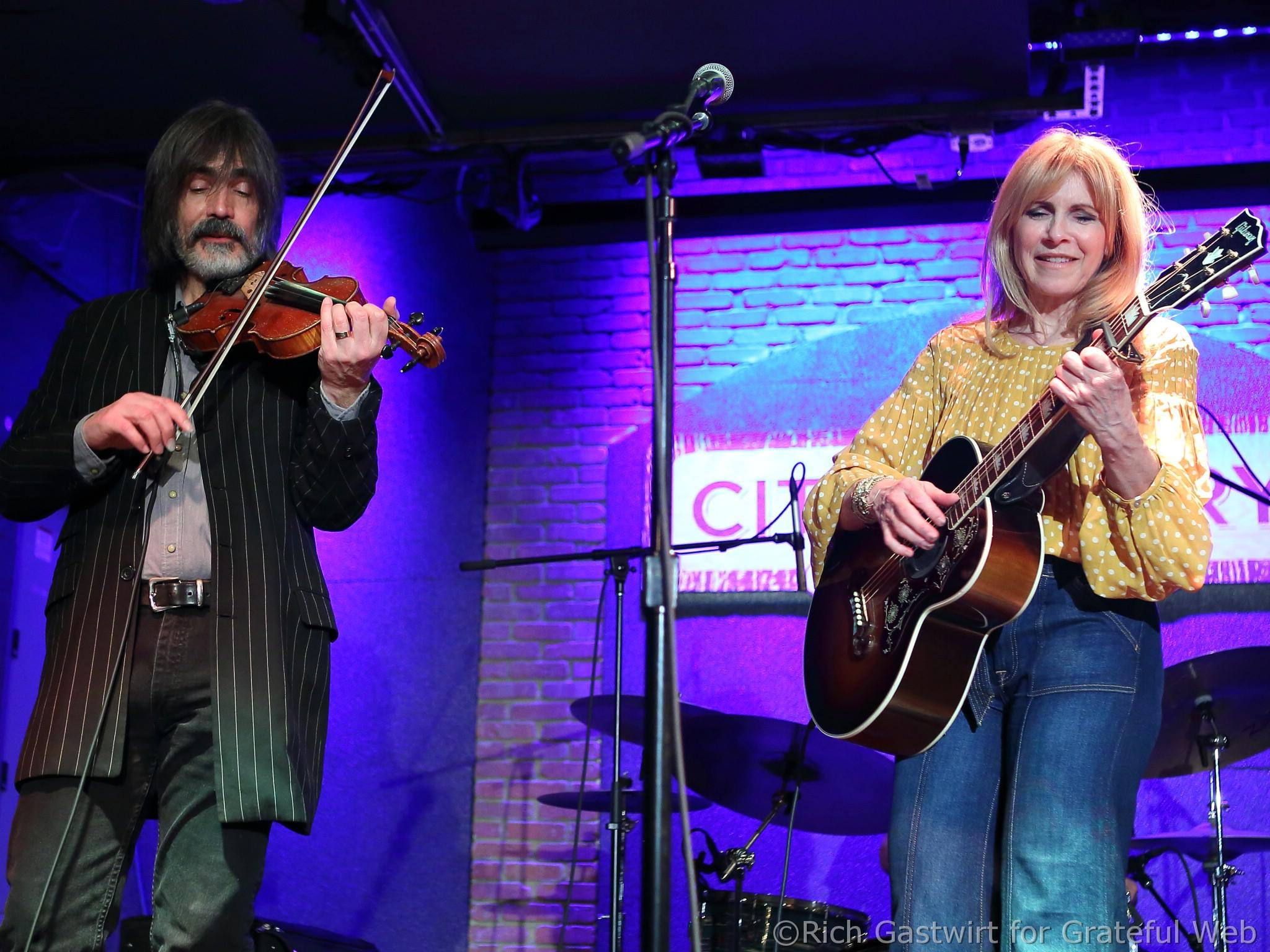 Larry Campbell & Teresa Williams | City Winery Boston | 3/31/18