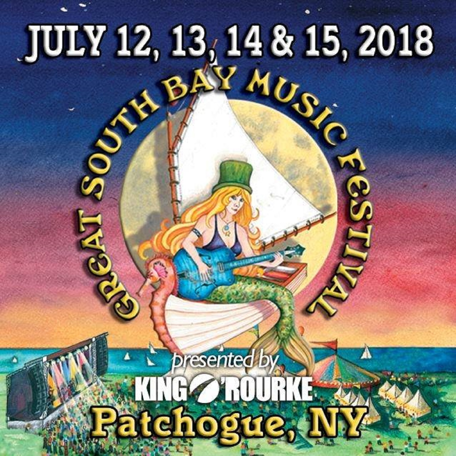 Great South Bay Music Festival Celebrating It's 12th Anniversary