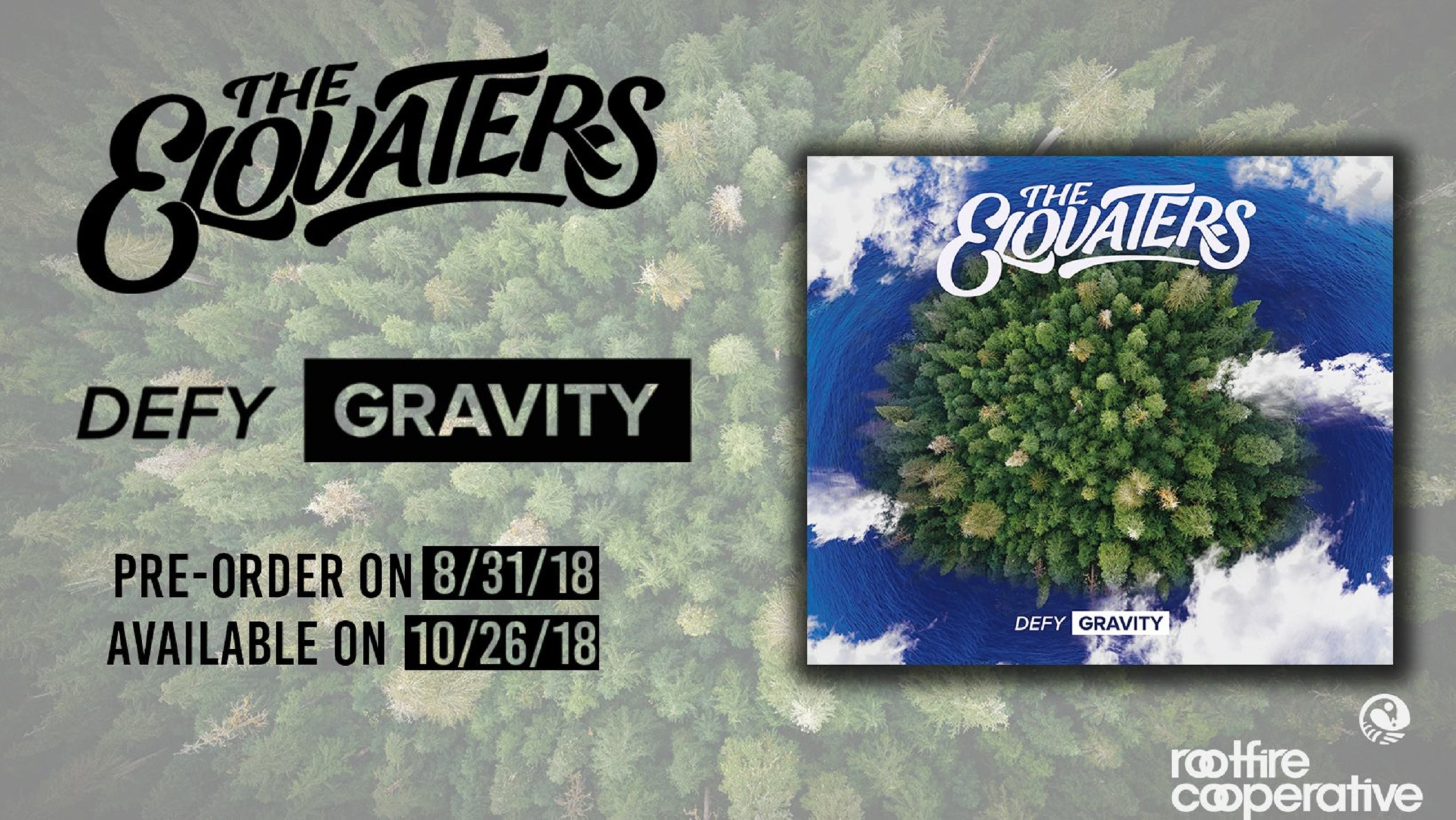 The Elovaters Announce New Album, Defy Gravity
