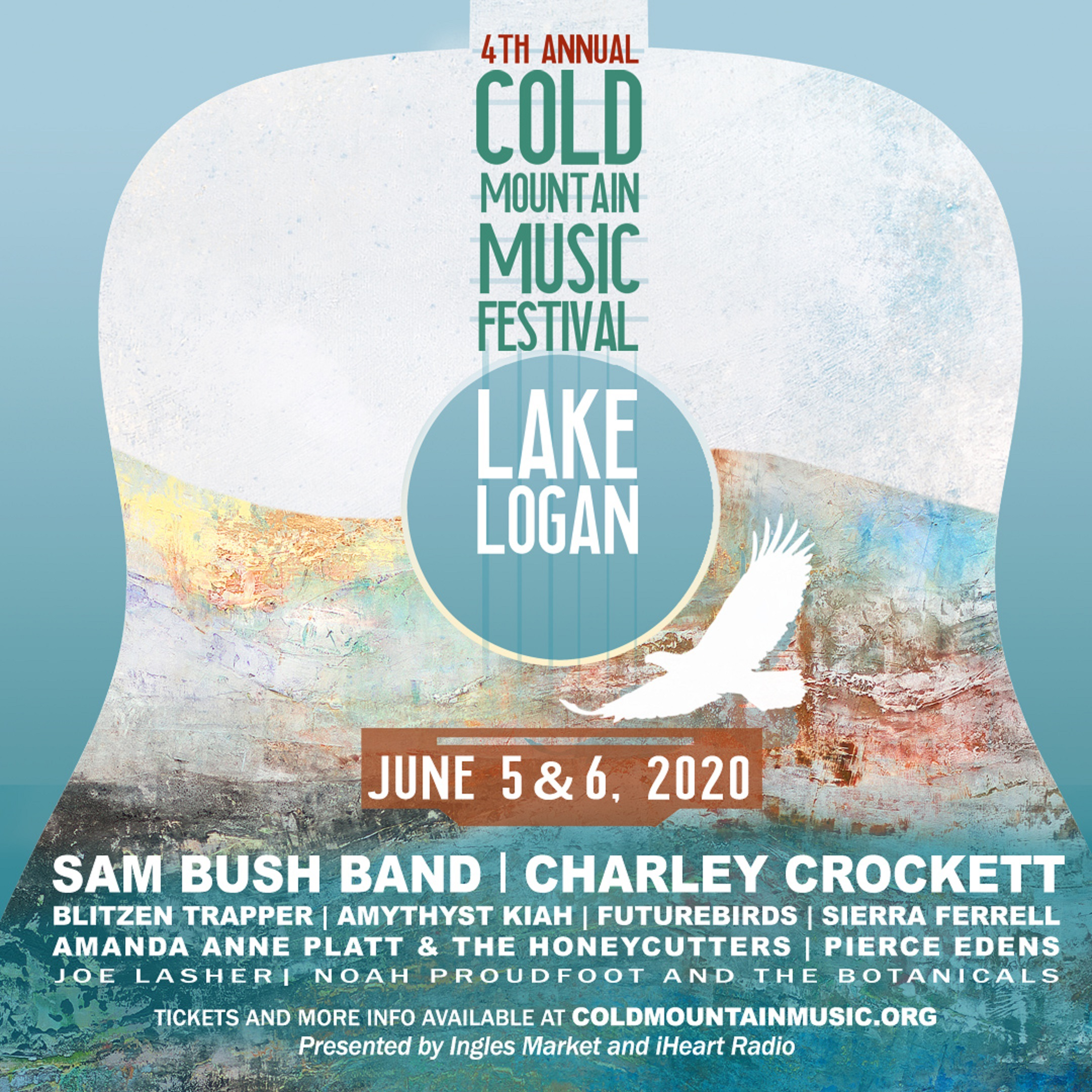 Cold Mountain Music Festival Announces 2020 Lineup