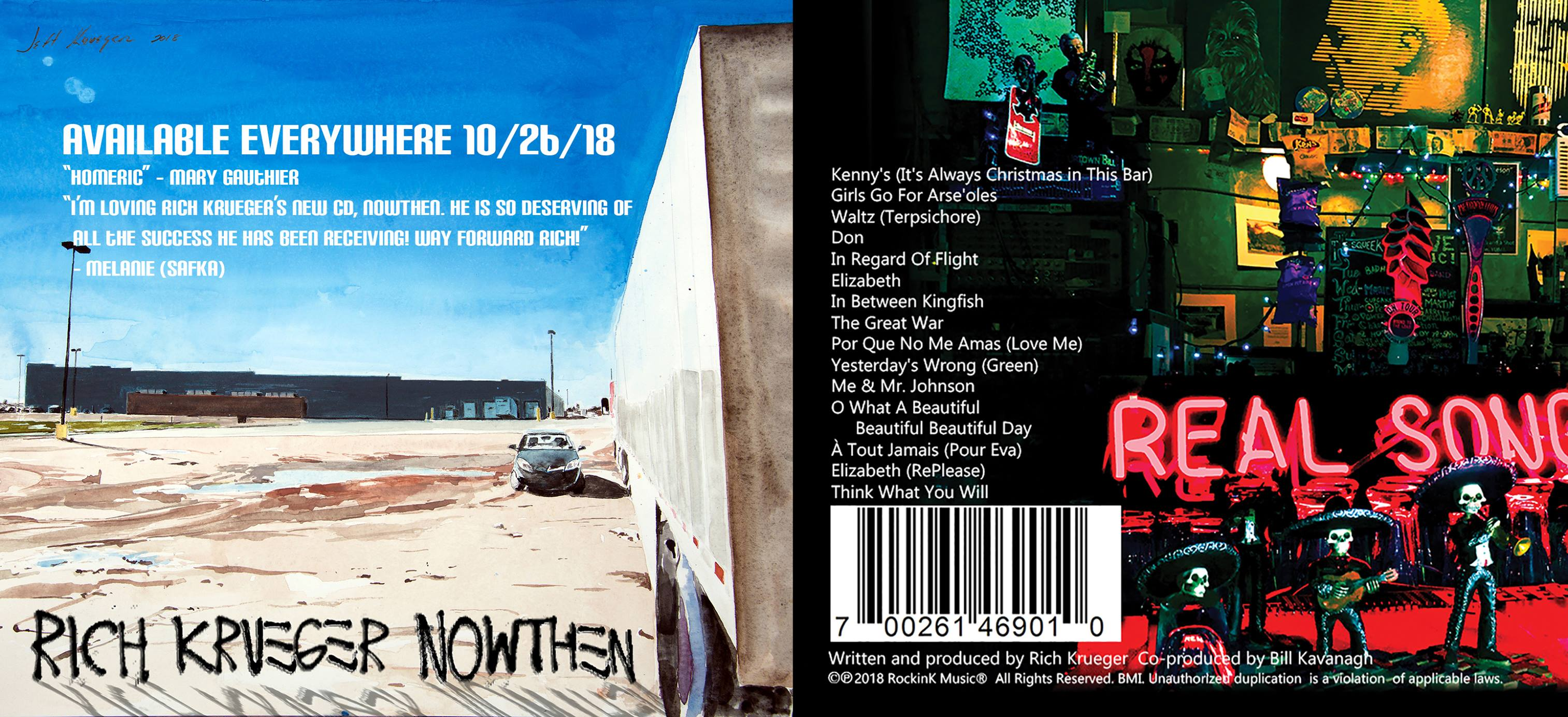 RICH KRUEGER IS SET TO RELEASE HIS SOPHOMORE EFFORT, NOWThen