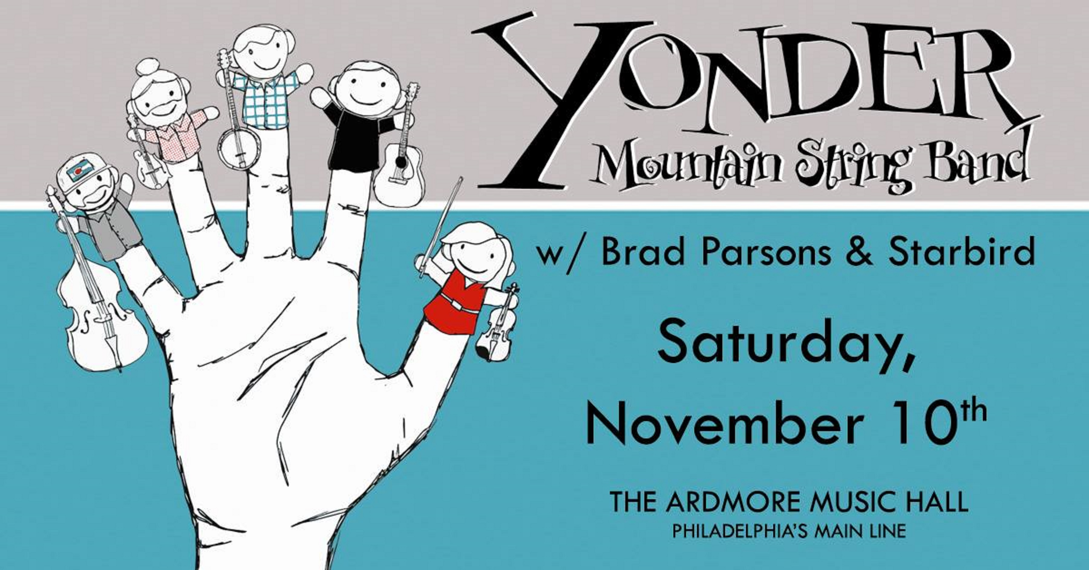 Yonder Mountain & to play Ardmore Music Hall This Saturday