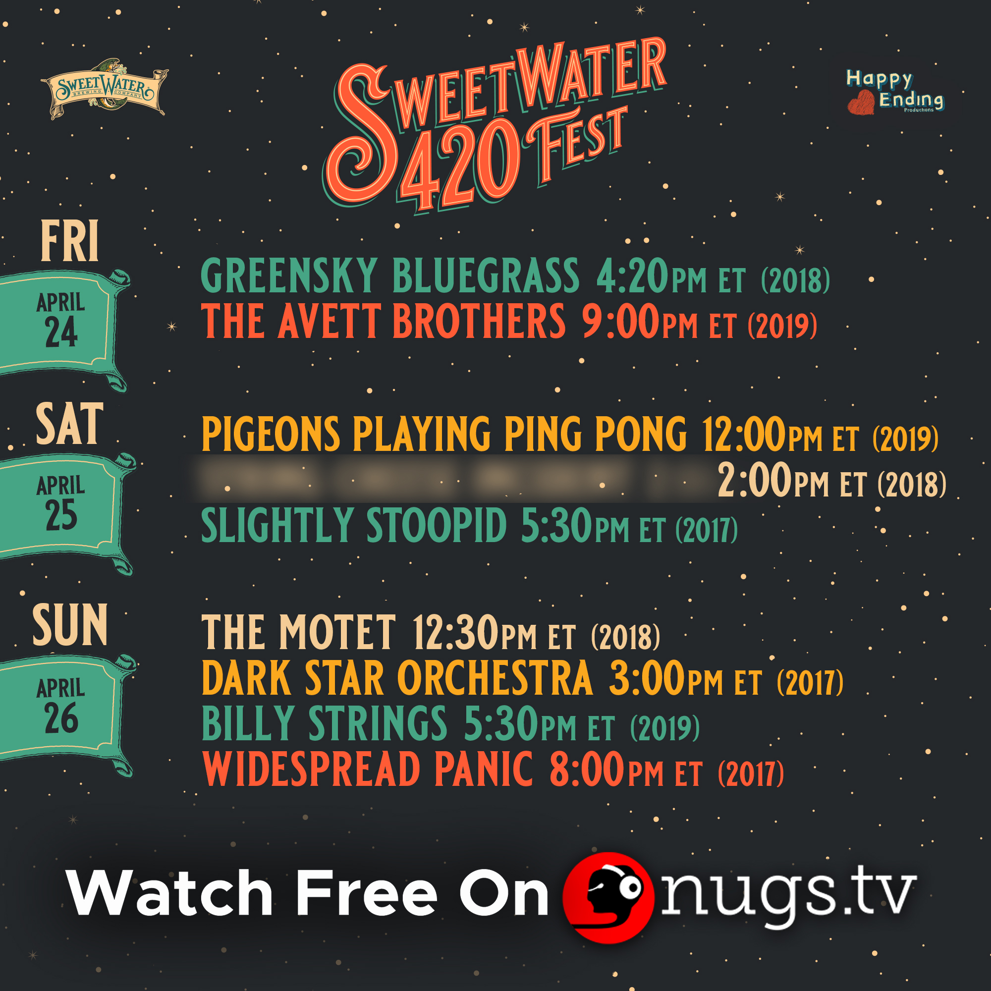 420 Fest - Stream in Place, Replaces Festival This Weekend