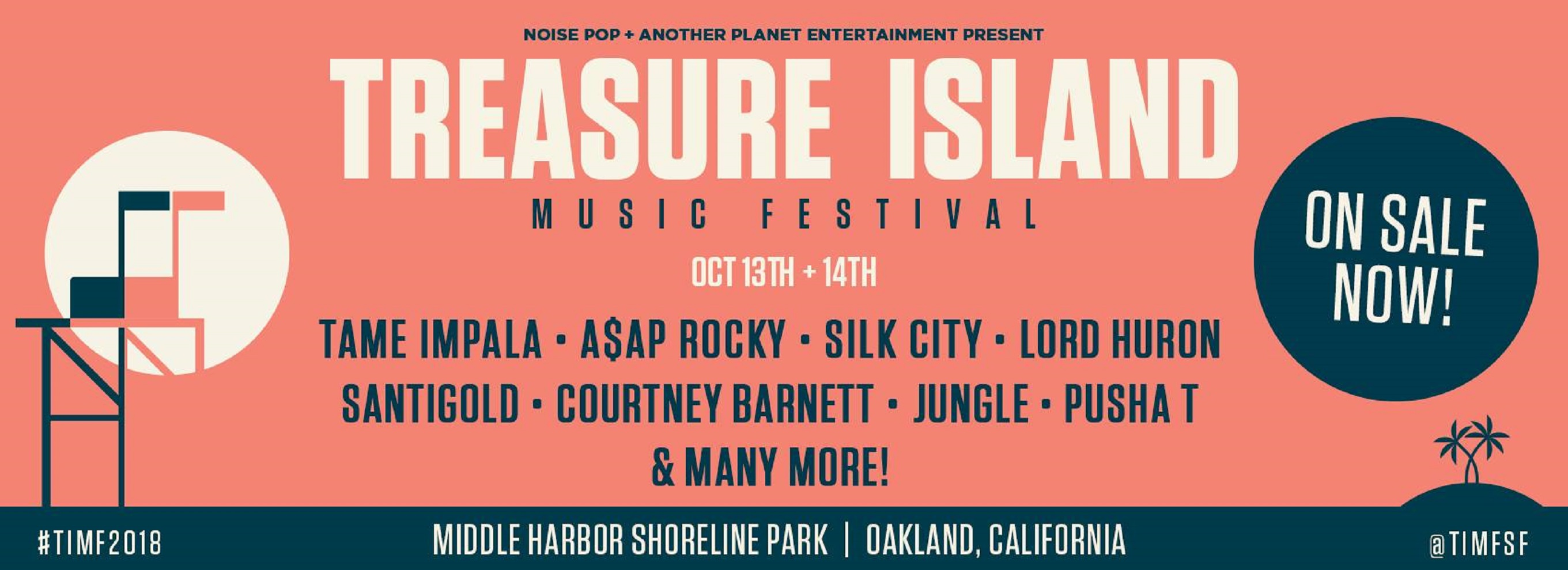 Treasure Island Music Festival Announces Full Schedule